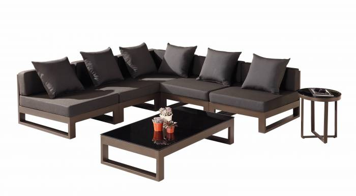 "Amber ""V"" Shape Sectional set - Image 1"