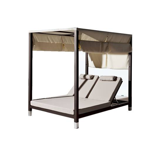 Amber Double Daybed with canopy - Image 1