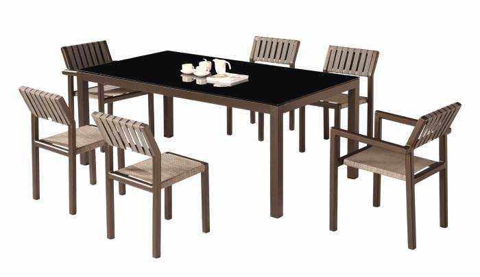 Amber Dining Set For 6
