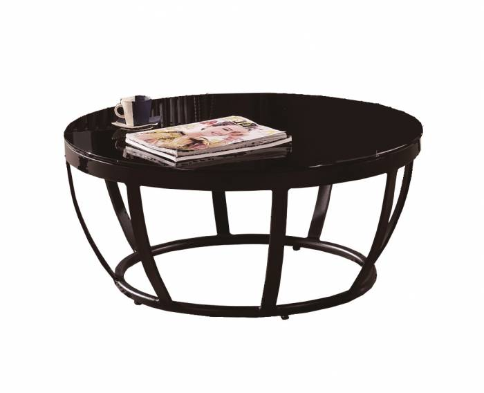 Apricot Large Round Coffee Table - Image 1