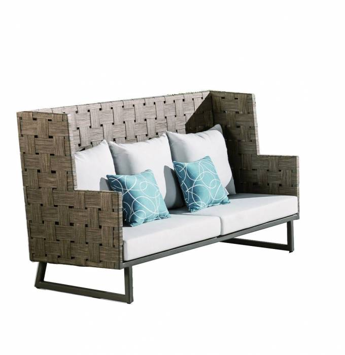 Asthina High Back Sofa
