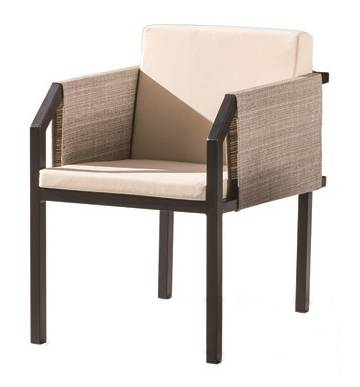 Barite Chair With Side Fabric - Image 1