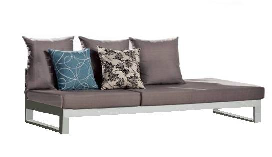Amber Two Seater Chaise - Image 1