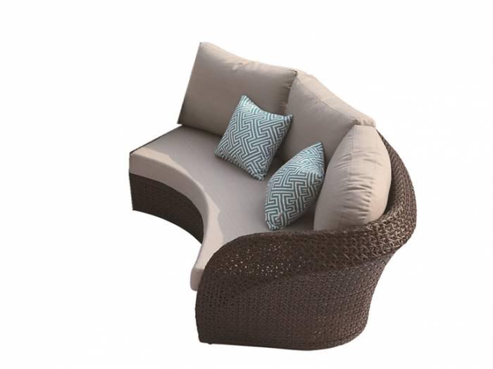 Evian Curved Right Arm Sofa WA1086 - Image 1