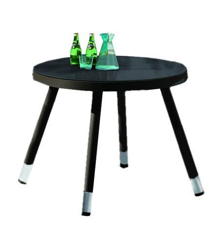 Fatsia Round Dining Table For Four