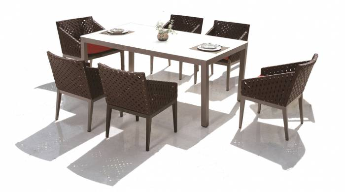 Florence Dining Set for 6