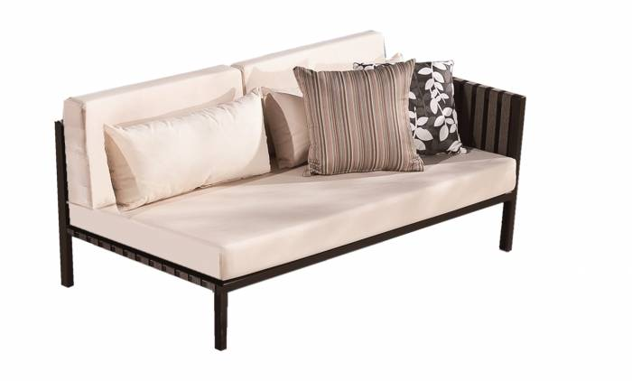 Garnet Two Seater with Right  Armrest