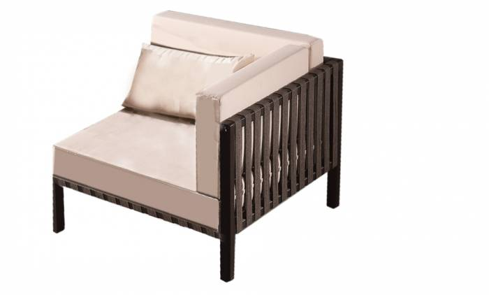 Garnet Corner Chair - Image 1