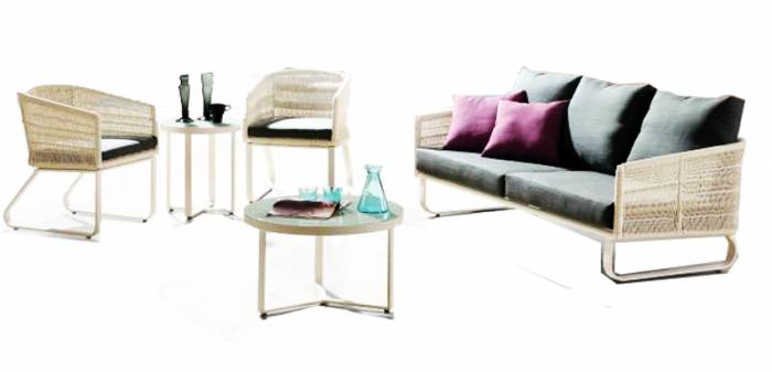 Haiti Sofa With 2 Chairs - Image 1