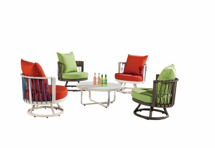 Hyacinth Seating Set for 4 - Image 1