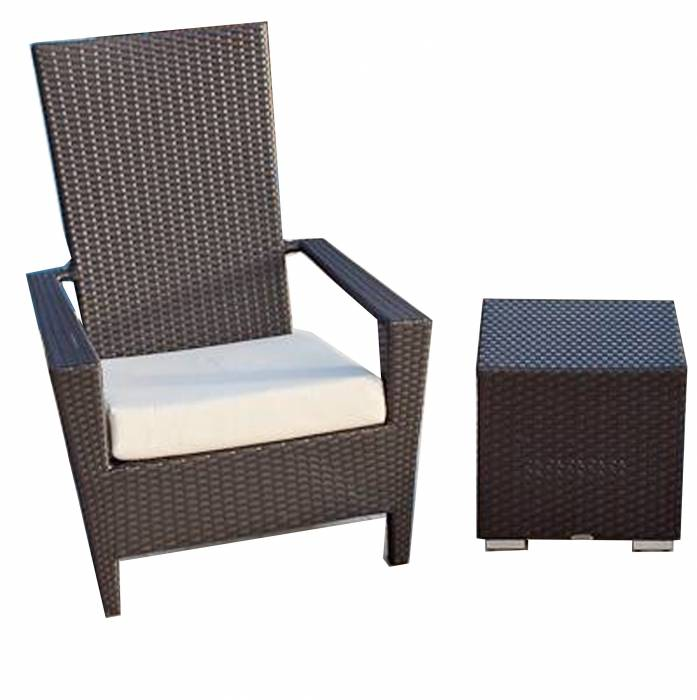 Babmar - Martano Chair with Side Table