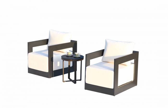Babmar - Lusso Club Chair Set - Image 1