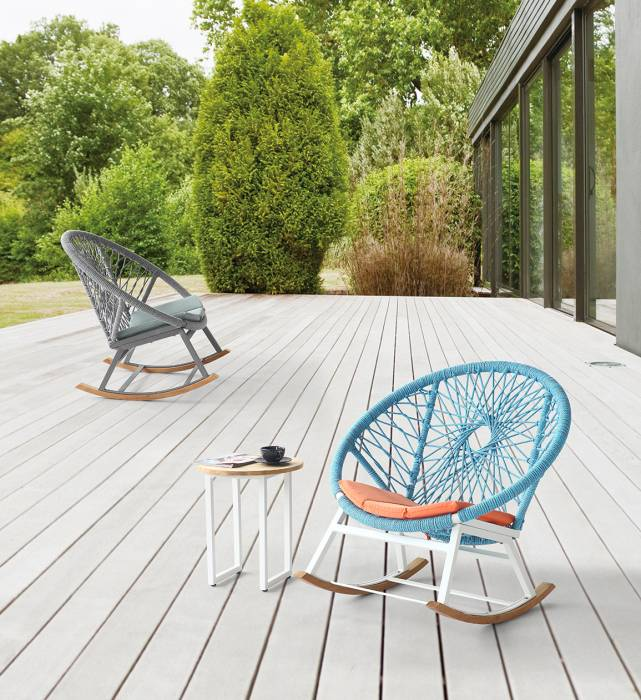 Babmar - Seattle Round Rocking Club Chair - Image 1