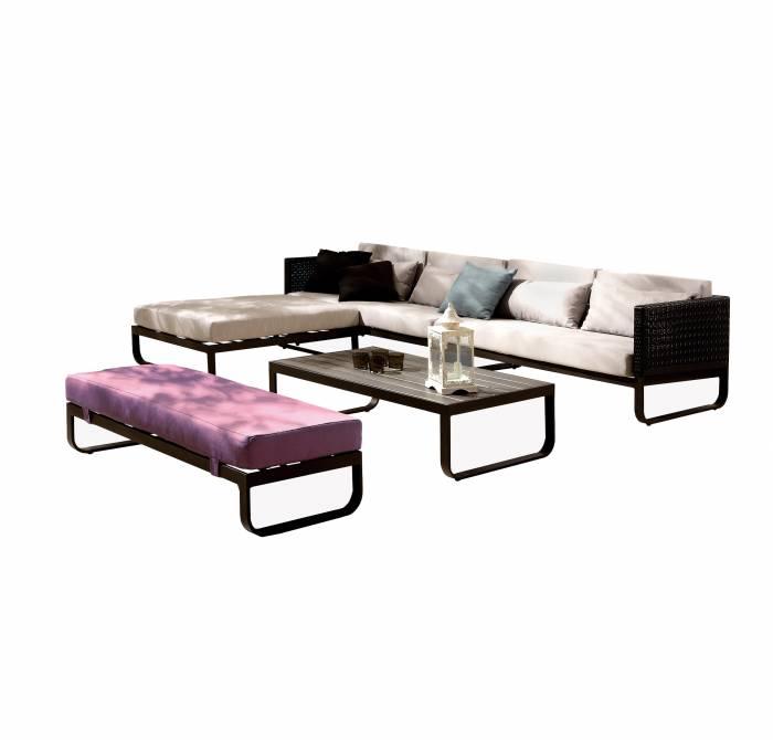 Polo Sofa Set with Bench - Image 1
