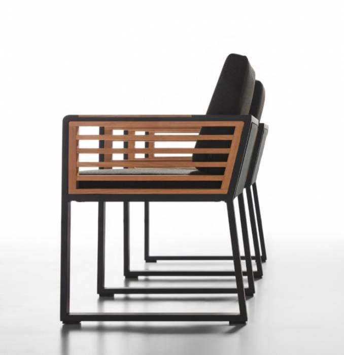 Babmar - AVANT DINING CHAIR WITH ARMS - Image 1