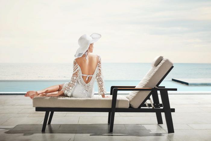 Babmar - Onyx Chaise Lounge - Image 1