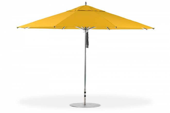 Babmar - Greenwich Aluminum Pulley-Lift Umbrella - Image 1