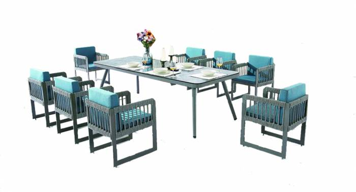 Seattle Dining Set For Eight - Image 1