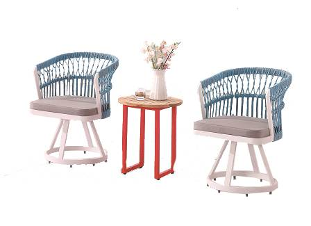 Seattle Rounded Back Chair Set For 2 - Image 1