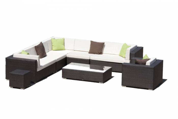 Babmar - Swing 46Sectional Sofa Set with Club Chair - Image 1