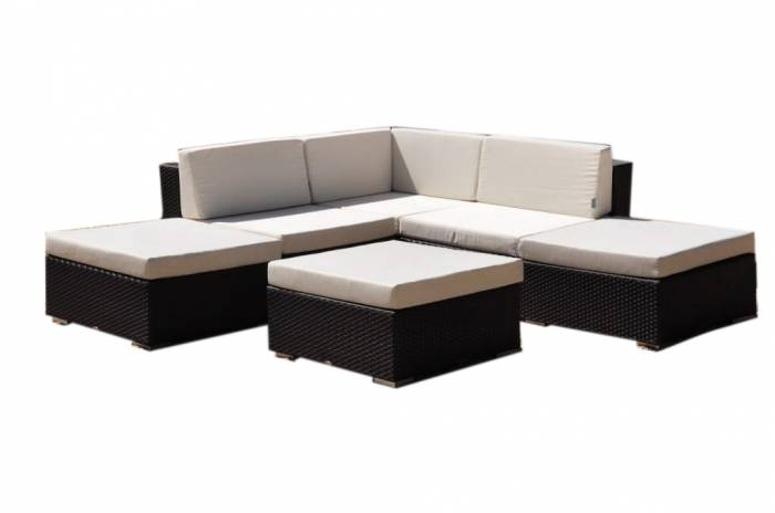 "Babmar - Swing 46 ""V"" Shaped Sofa Set - Image 1"