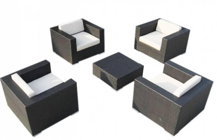 Babmar - Swing 46 Club Chair Set for 4 - Image 1