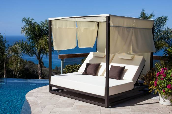 Babmar - Riviera Outdoor Daybed - QUICK SHIP - Image 1