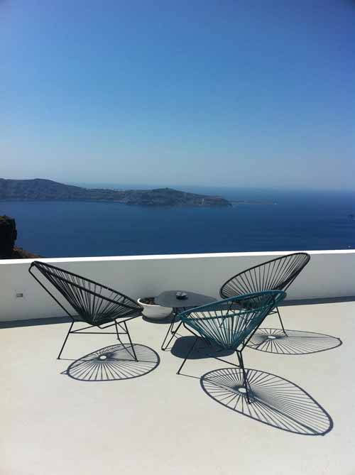 Babmar - Santorini Chair -All White