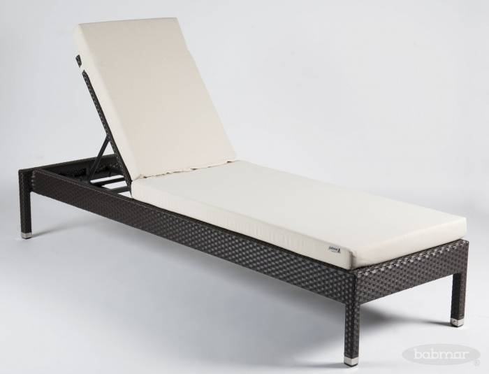 Babmar - Stackable Outdoor Chaise Lounge