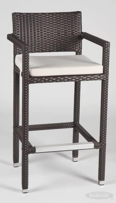 Babmar - Vertigo Barstool with Arms - Image 1