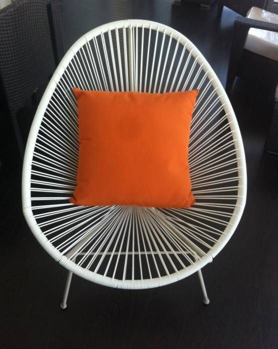 SunProof Throw Pillow - Orange
