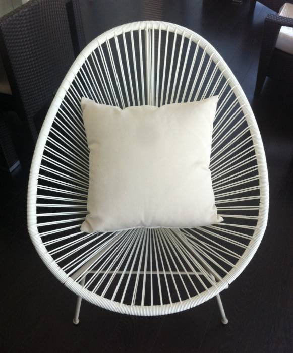 SunProof Throw Pillows - Off White