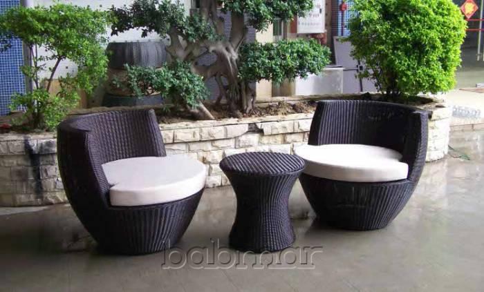Obsidian Chair Set