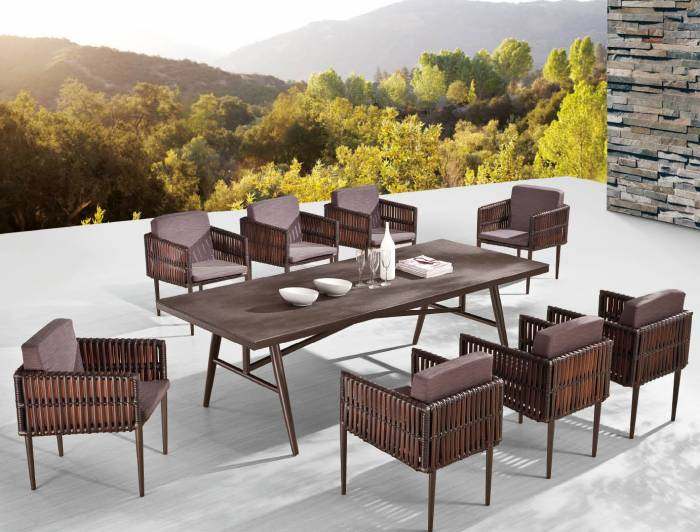 Dakar Dining Set for Eight