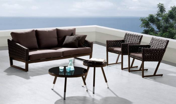 Palermo Sofa With 2 Chairs