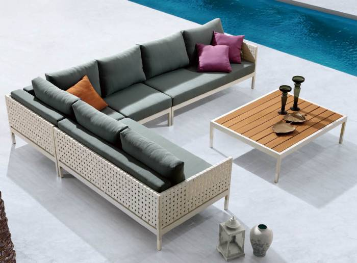 Taco Sectional Sofa Set