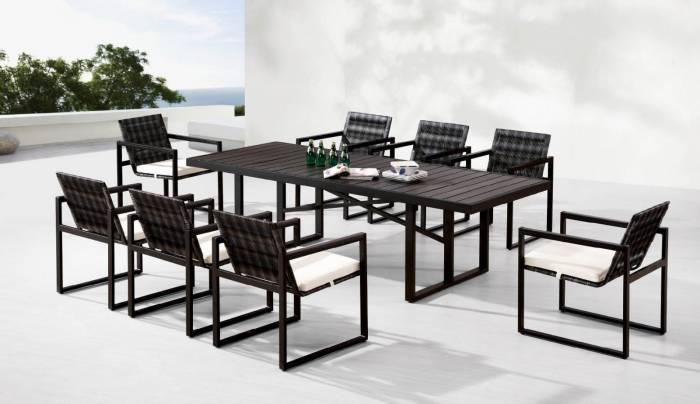 Luxor Dining Set for 8
