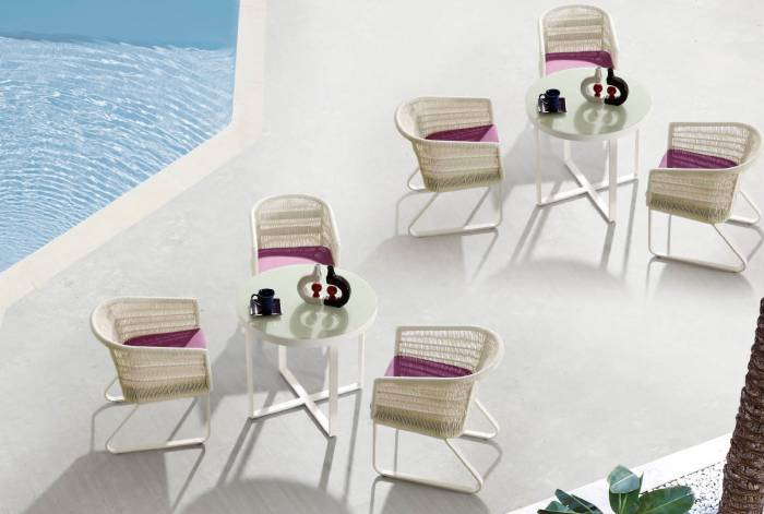 Modena Dining Set For 3