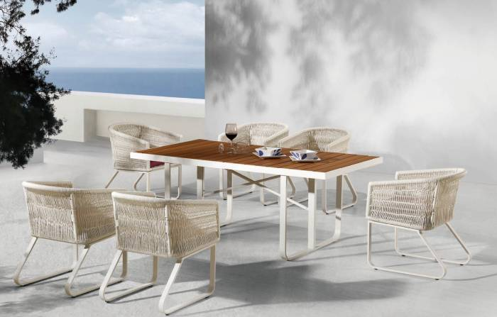 Modena Dining Set For 6