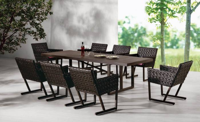Palermo Dining Set For 8