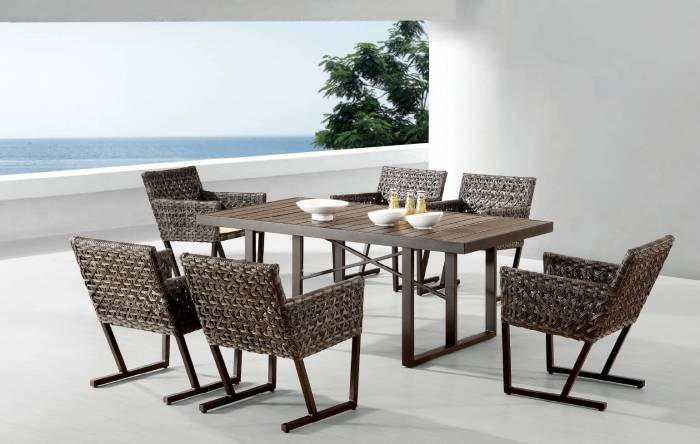 Palermo Dining Set For 6