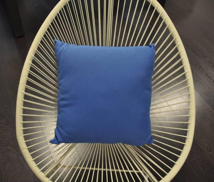 SunProof Throw Pillow - Blue