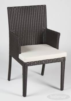 Individual Pieces - Dining Chairs - Babmar - Venice Dining Chair With Arms
