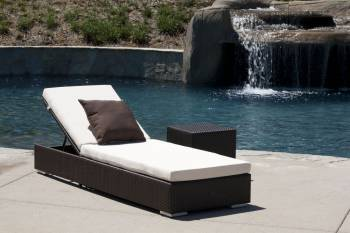 Outdoor Furniture Sets - Outdoor Chaise Lounges - Babmar - Mandarin Outdoor Chaise Lounge