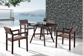 Package Deals - Outdoor  Dining Sets - Garnet Dining Set for 4