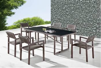 Package Deals - Outdoor  Dining Sets - Garnet Dining Set For 6