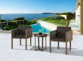 Shop By Collection and Style - Amber Collection - Amber with Side Straps Seating Set For 2