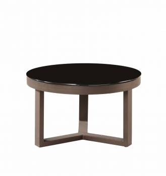 Individual Pieces - Coffee Tables, Side Tables And Ottomans - Amber Round Coffee Table