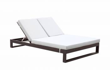 Outdoor Furniture Sets - Outdoor Chaise Lounges - Amber Double Chaise Lounge