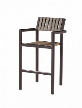 Individual Pieces - Barstools - Amber Bar Stool With Arms